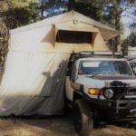 Smittybilt 2883 Rooftop Tent on FJ Cruiser