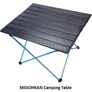 MSSOHKAN Camping Table