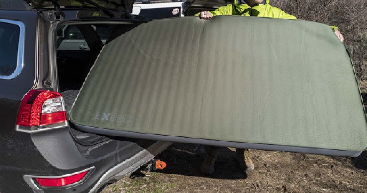 Exped Megamat Duo 10 Best Car Camping Mattress For Couples